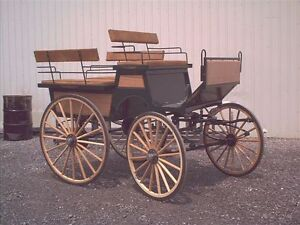 Carriages , wagon, sleighs , carts all new made to order! Windsor Region Ontario image 2