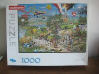 1000 PIECE JIGSAW PUZZLE - I LOVE THE COUNTRY - COMPLETE