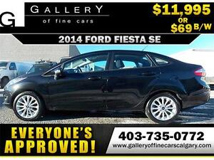 2014 Ford Fiesta SE $69 bi-weekly APPLY NOW DRIVE NOW