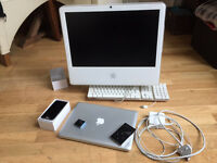 Various apple products suitable for spares or refurbishment