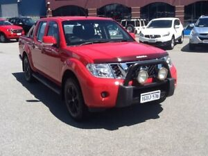 2013 Nissan Navara D40 S6 MY12 ST Red 5 Speed Sports Automatic Utility
