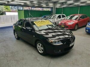 2006 Mazda 3 BK10F2 Maxx Black 4 Speed Sports Automatic Sedan Croydon Burwood Area Preview