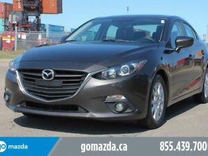 2015 Mazda Mazda3 GS MANUAL LEATHER HEATED SEATS SUNROOF 1 OWNER