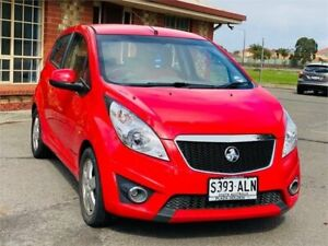2010 Holden Barina Spark MJ MY11 CDX Red 5 Speed Manual Hatchback Mawson Lakes Salisbury Area Preview