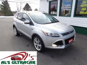 2015 Ford Escape Titanium AWD only $219 bi-weekly all in!