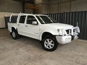 2005 Holden Rodeo RA MY05 LT Crew Cab White 5 Speed Manual Utility Rocklea Brisbane South West Preview