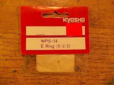 WPS-14 E-Ring W5000 W5001 W5002 Gold Shock Kyosho Turbo Optima Mid Ultima Raider