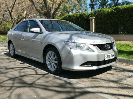 2016 Toyota Aurion GSV50R AT-X Silver 6 Speed Sports Automatic Sedan Hawthorn Mitcham Area Preview