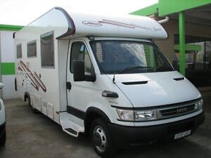 2006 Iveco Daily Sunliner Eurosport Motorhome White 6 Speed Automatic Long Wheel Base Casino Richmond Valley Preview