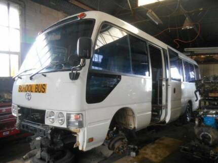 Toyota Coaster HZB50 rare 1HD Turbo diesel 5spd man Clovelly Park Marion Area Preview