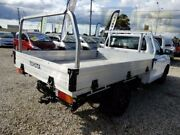 2015 Toyota Hilux TGN121R Workmate White 5 Speed Manual Cab Chassis Moorabbin Kingston Area Preview