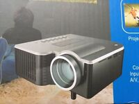 Excelvan LED projector - LCD image system