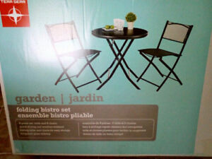 BISTRO SET (STILL AVAILABLE IF AD UP)
