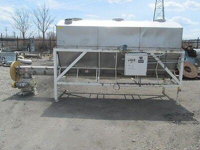 150 Cu Ft Stainless Steel Hopper Screw Conveyor 2670-4