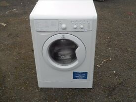 USED INDESIT ICW6105. 6 KG, 1000 SPIN, A RATED WASHING MACHINE IN WHITE COST NEW £249