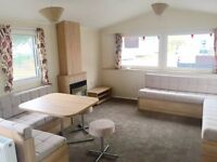 Brand new Double glazed static caravan, coastal resort , Dog friendly , facilities for all ages