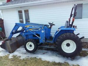 2008 NEW HOLLAND T1510 TRACTOR & LOADER