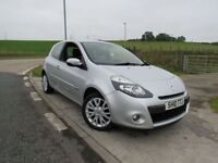 RENAULT CLIO 1.1 DYNAMIQUE TOMTOM 3d 2010 6 Months RAC Parts And Labour Warranty Years MOT