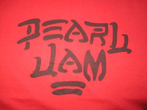 PEARL JAM Logo (LG) T-Shirt EDDIE VEDDER