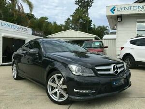 2014 Mercedes-Benz C250 CDI C204 MY14 7G-Tronic Black Semi Auto Coupe Southport Gold Coast City Preview