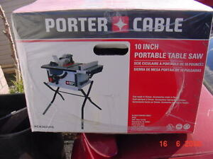 Table Saw new in box Porter Cable