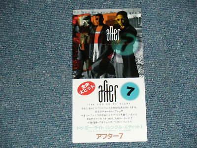 """AFETR 7 Japan 1995 VJDP-10250 NM Tall 3"""" CD Single TIL YOU DO ME RIGHT"""