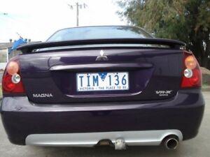 2004 Mitsubishi Magna TW VR-X AWD Purple 5 Speed Sports Automatic Sedan
