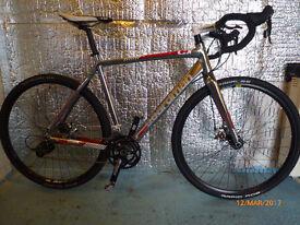 Boardman CX Team Cyclocross bike. Little used.