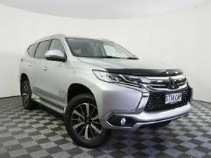 2019 Mitsubishi Pajero Sport QE MY19 GLS Silver 8 Speed Sports Automatic Wagon Wayville Unley Area Preview