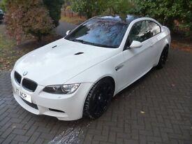 BMW 3 SERIES M3 DST 4.0Ltr (white) 2011