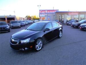 2014 CHEVROLET CRUZE 2LT WITH RS PACKAGE LEATHER EASY FINANCING