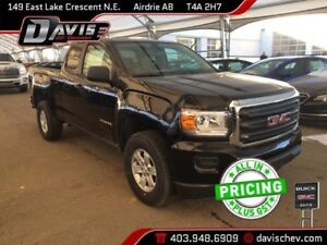 2019 GMC Canyon HD TRAILRING PACKAGE, REAR PARK ASSIST, ONSTAR