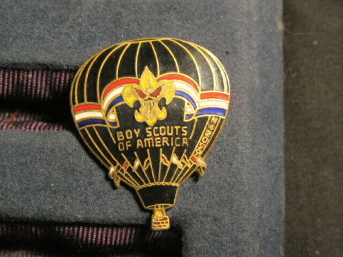 Boy Scouts of America Balloon Shaped Hat Pin     c78
