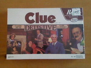 Clue board game - still in plastic wrapping