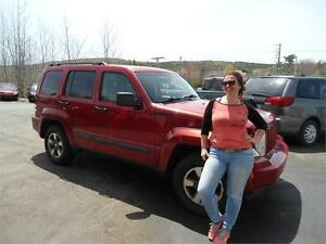 DEAL! 2008 JEEP LIBERTY 4X4 !!! , NEW BRAKES ! NEW MVI !