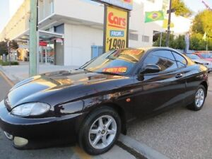1996 Hyundai Coupe Fx Dark Purple 5 Speed Manual Coupe Southport Gold Coast City Preview