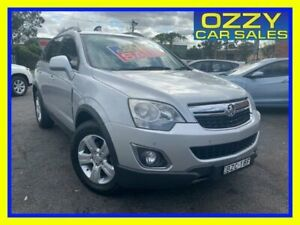 2011 Holden Captiva CG Series II 5 (4x4) Silver 6 Speed Automatic Wagon Minto Campbelltown Area Preview