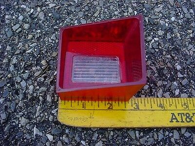 MOPAR 68 PLYMOUTH VALIANT right BACKUP LIGHT LENS 68V ABODY SIGNET 100 200