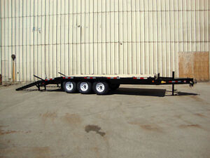 Miska 10 Ton Equipment Float Trailer
