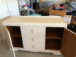 Vintage waterfall dresser for sale Shabby Chic