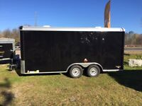 2016 CONTINENTAL CARGO ENCLOSED 8.5 x 16 CAR HAULER!! HEAVY DUTY