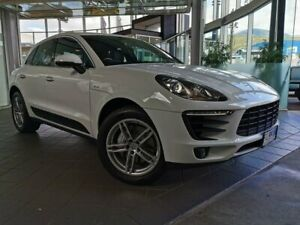 2016 Porsche Macan 95B MY17 S PDK AWD Diesel White 7 Speed Sports Automatic Dual Clutch Wagon North Hobart Hobart City Preview