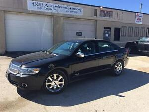 2008 Lincoln MKZ-AWD-LEATHER-SUNROOF-LOADED-ALLOYS-HTD SEATS