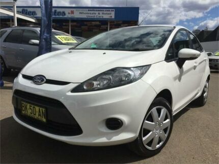 2010 Ford Fiesta WT CL White 6 Speed Automatic Sedan Blacktown Blacktown Area Preview