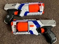 2 x Nerf N-Strike Elite Strongarm Blasters (worth £40)