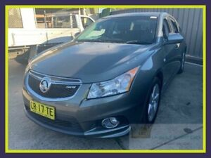 2012 Holden Cruze JH Series II MY12 SRi Grey Manual Sedan Lansvale Liverpool Area Preview