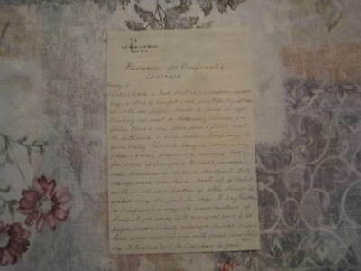 Manuscript Bulfinch Sick Bird Veterinary Diseases Laudanum Diarrhea Handwritten