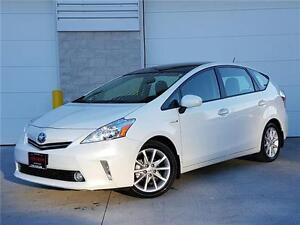 2012 Toyota Prius v TECHNOLOGY-NAVIGATION-CAMERA-LEATHER-PANO RO