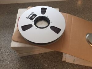 "Audio Tape - Magnetic 1/4"" and 1"""