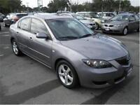 2006 Mazda Mazda3 GX Sedan Low Kms Certified $4,495+Taxes